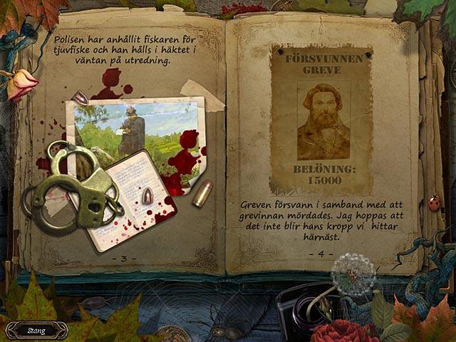 Game Skärmdump 2 Mystery Chronicles: Kärlekens svek