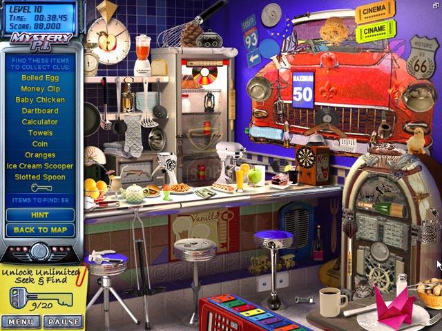 Game Skärmdump 1 Mystery P.I. - The Lottery Ticket