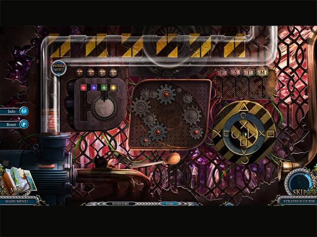 Game Skärmdump 3 Mystery Trackers: Nightsville Horror Collector's Edition