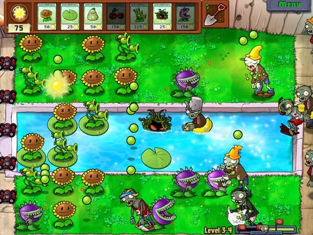 Game Skärmdump 1 Plants vs Zombies