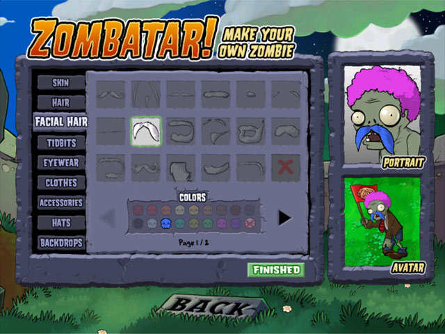 Game Skärmdump 3 Plants vs Zombies
