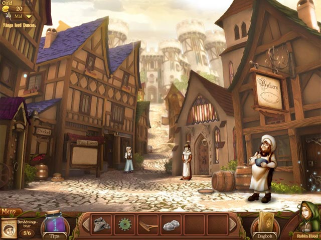Game Skärmdump 3 Robin's Quest: A Legend Born