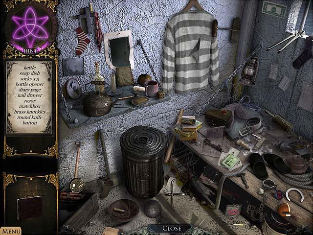 Game Skärmdump 1 Strange Cases: Hemligheterna i Grey Mist Lake
