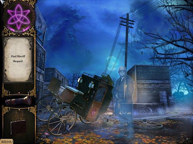 Game Skärmdump 3 Strange Cases: Hemligheterna i Grey Mist Lake