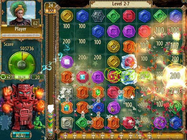 Game Skärmdump 1 The Treasures of Montezuma 2
