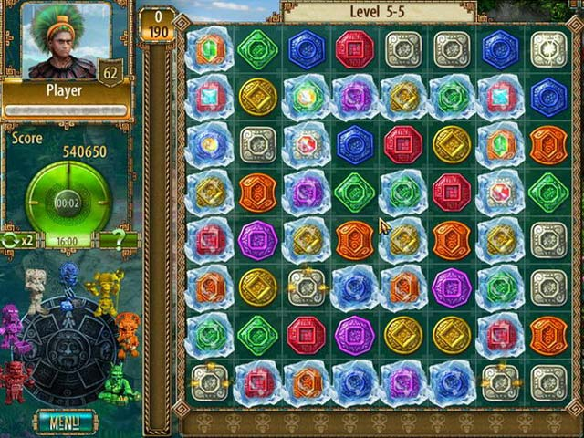 Game Skärmdump 2 The Treasures of Montezuma 2