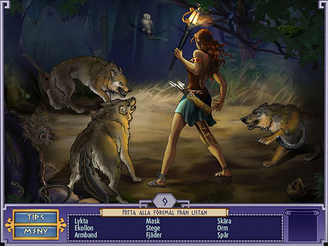 Game Skärmdump 2 Trial of the Gods: Ariadnes resa