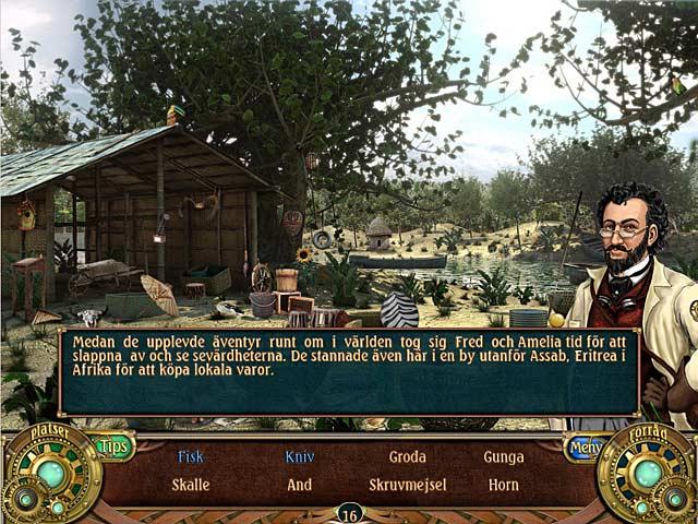 Game Skärmdump 3 Unsolved Mystery Club: Amelia Earhart