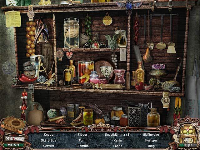 Game Skärmdump 2 Victorian Mysteries: Den hvitklädda kvinnan