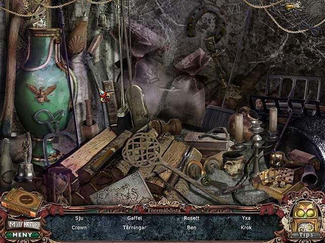 Game Skärmdump 3 Victorian Mysteries: Den hvitklädda kvinnan