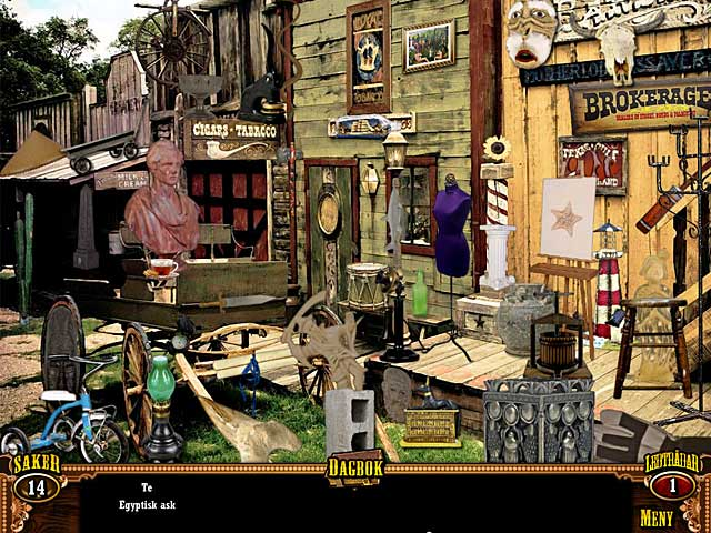 Game Skärmdump 2 Wild West Quest