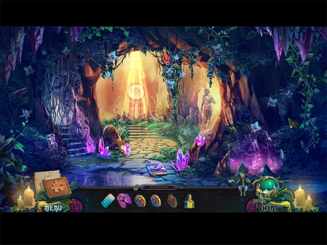 Game Skärmdump 1 Witches' Legacy: Slumbering Darkness Collector's Edition