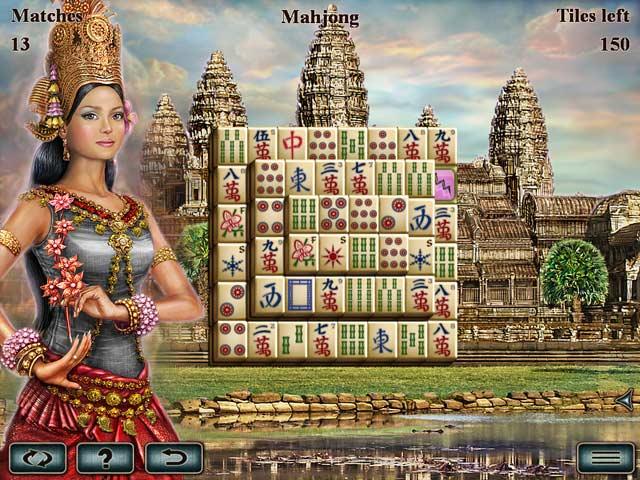 Game Skärmdump 3 World's Greatest Temples Mahjong